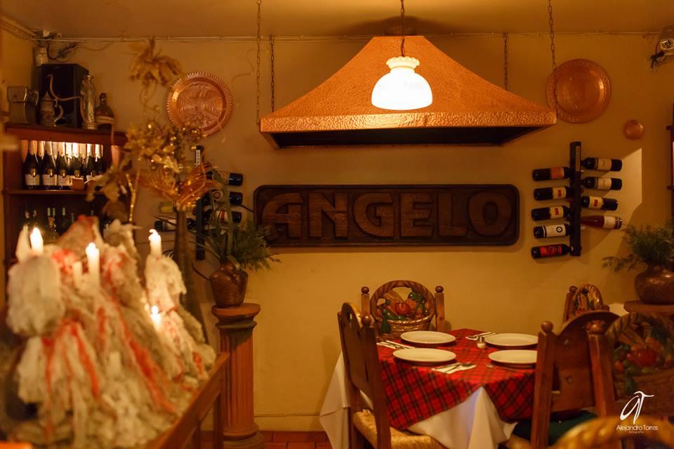 Interior de Ristorante Angelo
